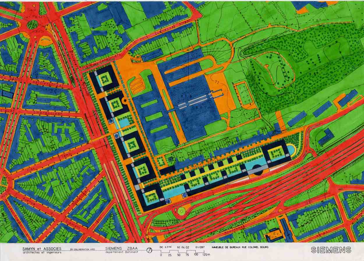 267Headquarters of SiemensNixdorf SAMYN PARTNERS – Siemens Site Planning