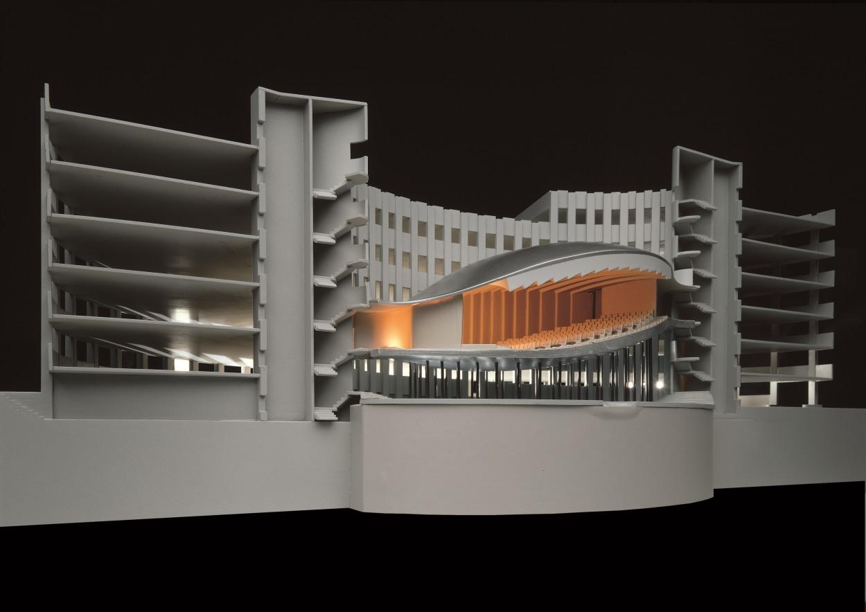 410 Construction Of An Auditorium In A Multilevel Car Park