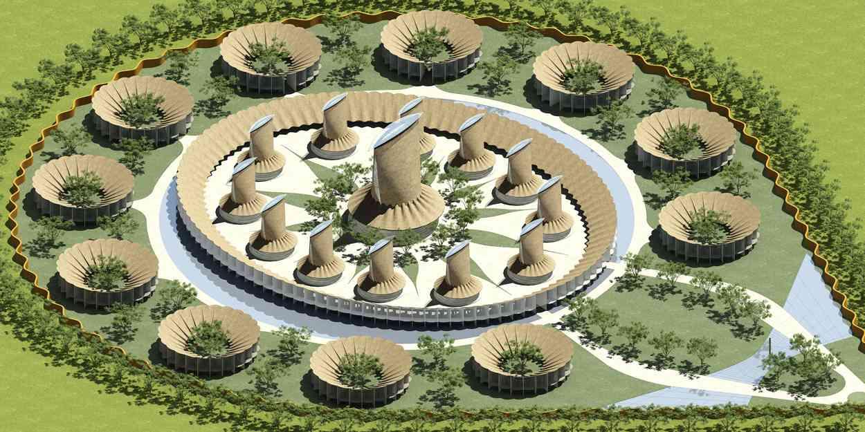 Lubumbashi-architectuur-school