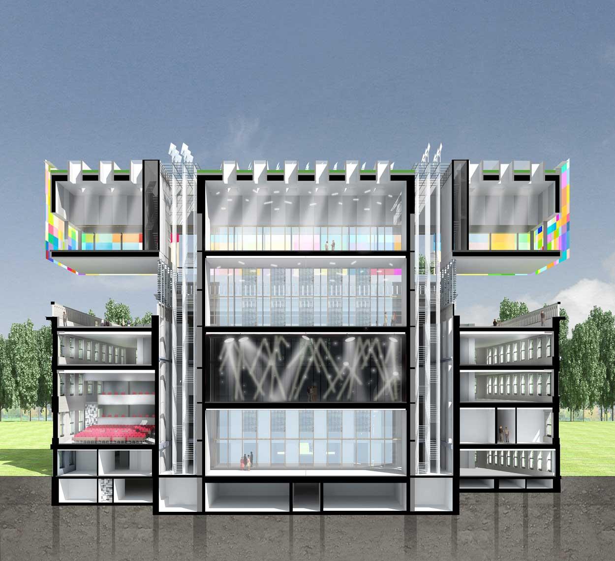 bureau michel forgue pavillon proyecta arquitectura delphine boucharel bureau michel forgue. Black Bedroom Furniture Sets. Home Design Ideas