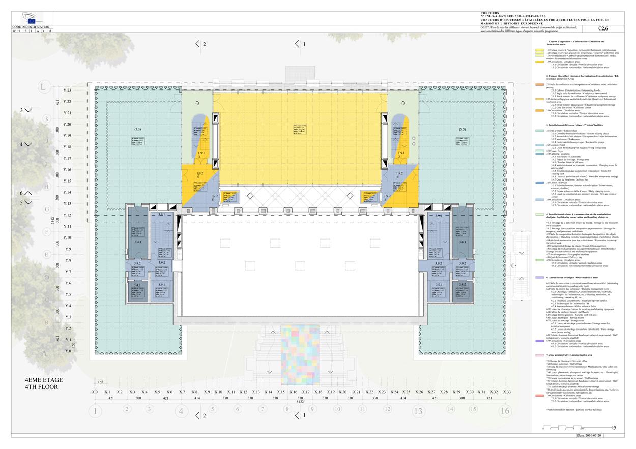 573 maison de l histoire europ enne samyn partners. Black Bedroom Furniture Sets. Home Design Ideas