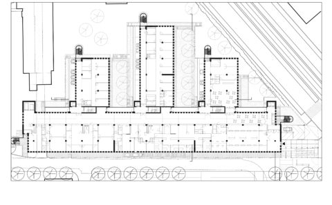 brugmann hospital polyclinic drawing