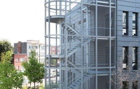 Hôpital Brugmann Polyclinique escalier de secours