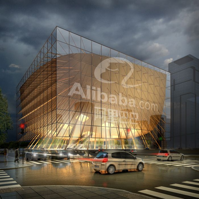 Alibaba Headquarters Shenzhen China Samyn And Partners