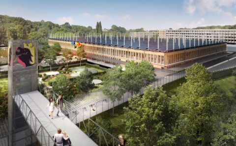 Rendu de la nouvelle Maison Administrative de la Province de Namur