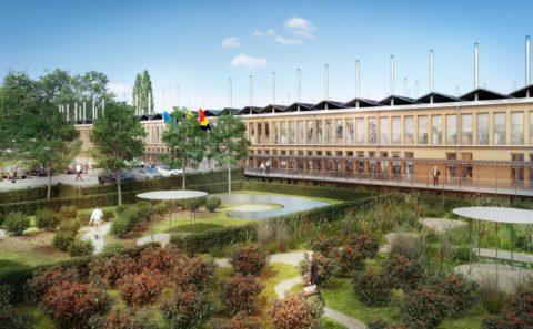 Nouvelle Maison Administrative de Namur, conçue par Philippe Samyn et Associés