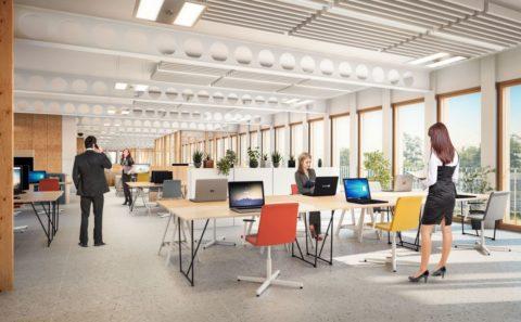 Espace coworking Maison Administrative de la Province de Namur