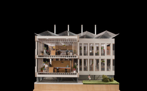 Maquette de la Maison Administrative de la Province de Namur
