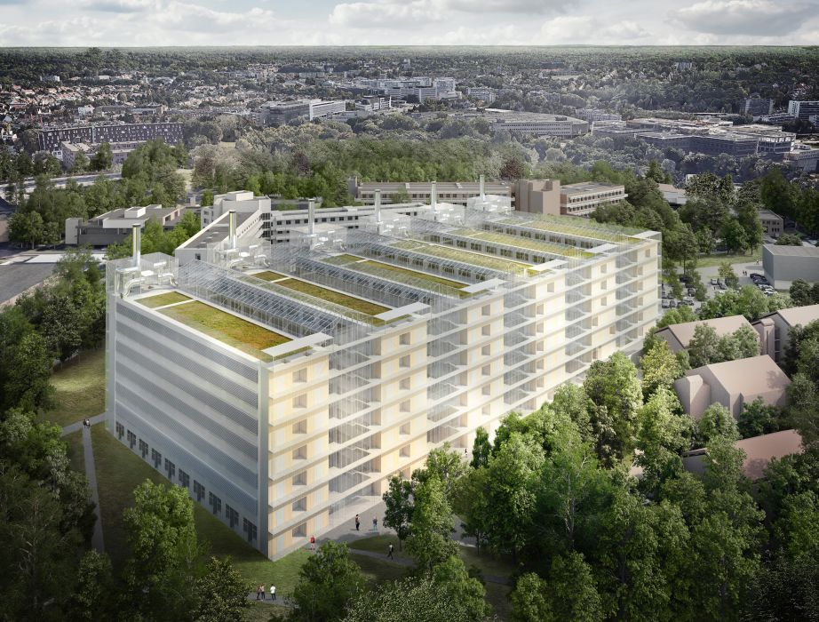 Project: © SAMYN and PARTNERS - Rendering : © ASYMETRIE