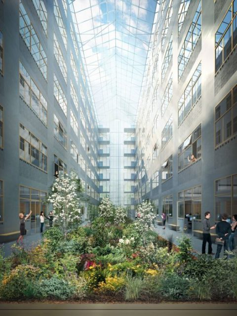 Project: © SAMYN and PARTNERS - Rendering: © ASYMETRIE